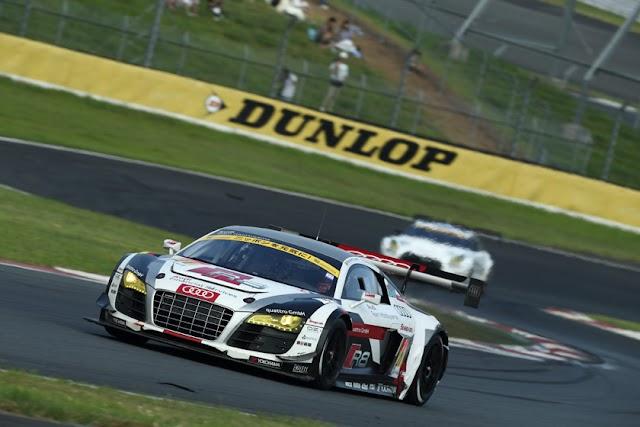 Super GT: Top 5 finish for Audi team Hitotsuyama at Suzuka 1000km