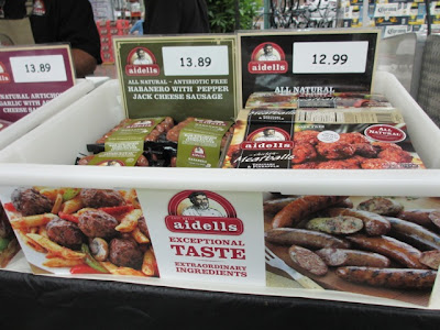 packages of sausage at Costco