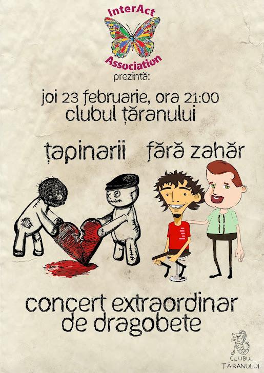 Concert Dragobete Tapinarii Fara zahar