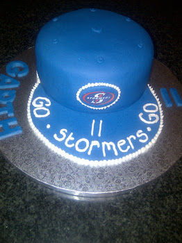 Stormers Hat Cake