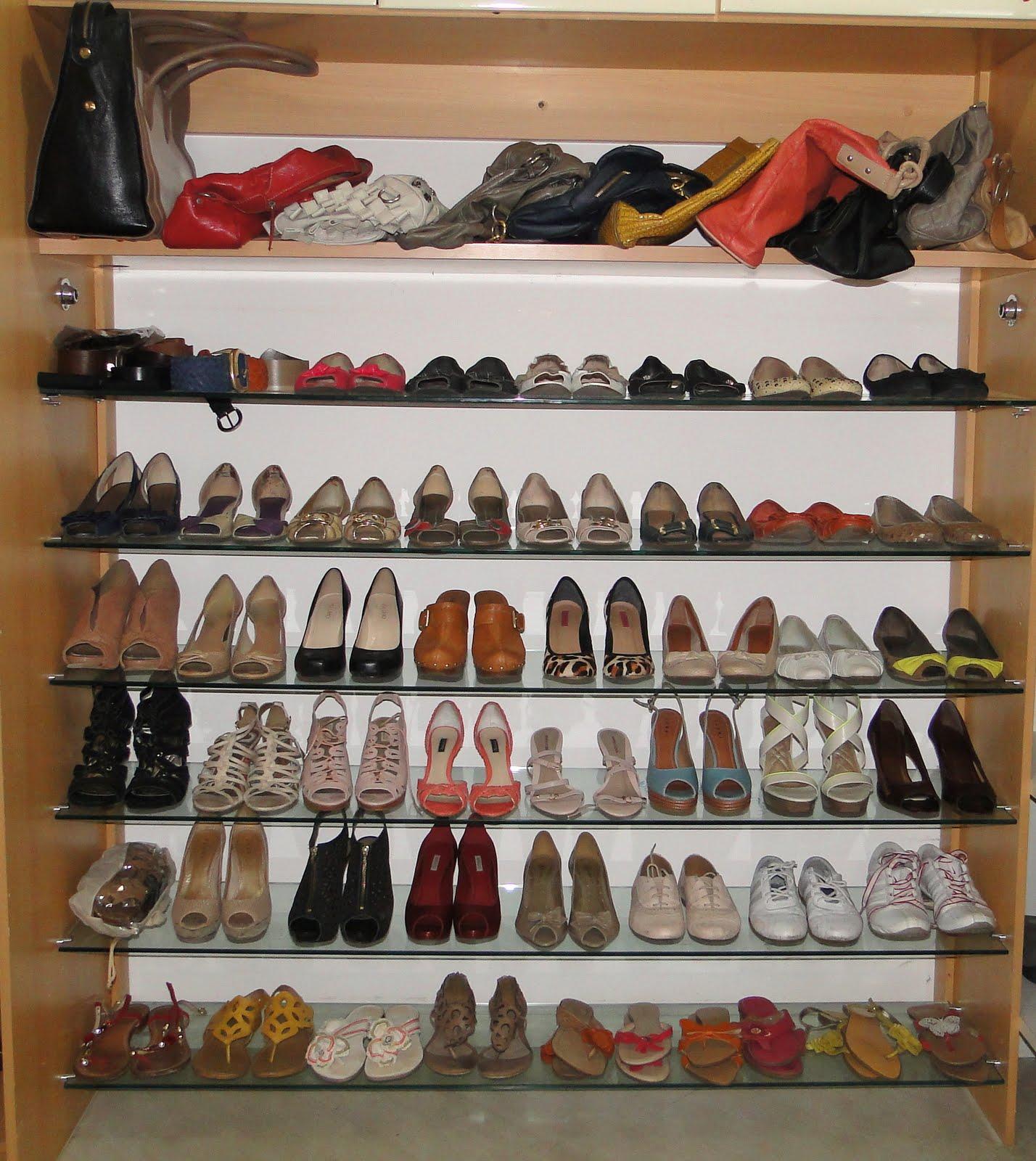 Fashion Mood: Arrumando sapatos e bolsas #9E382D 1428x1600