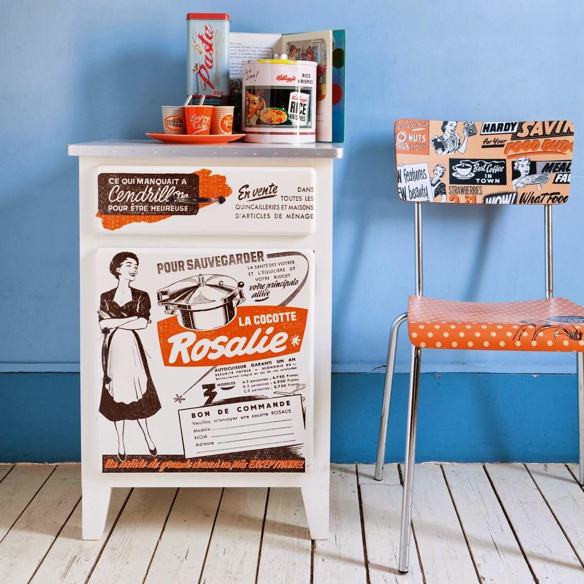 meuble cuisine vintage meuble cuisine en partance pour With amazing meuble cuisine maison du monde 4 cuisine le bois sinvite dans la cuisine dans la deco ou