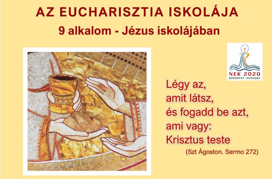 Kövesd az Eucharisztia Iskoláját YouTubon