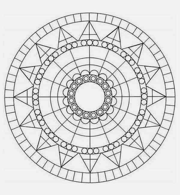 Download 36 Circle Diagram Beginner Mandala Coloring Pages Special For You