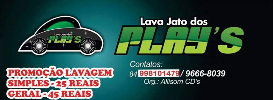 LAVA JATO DOS PLAYS - 998101479