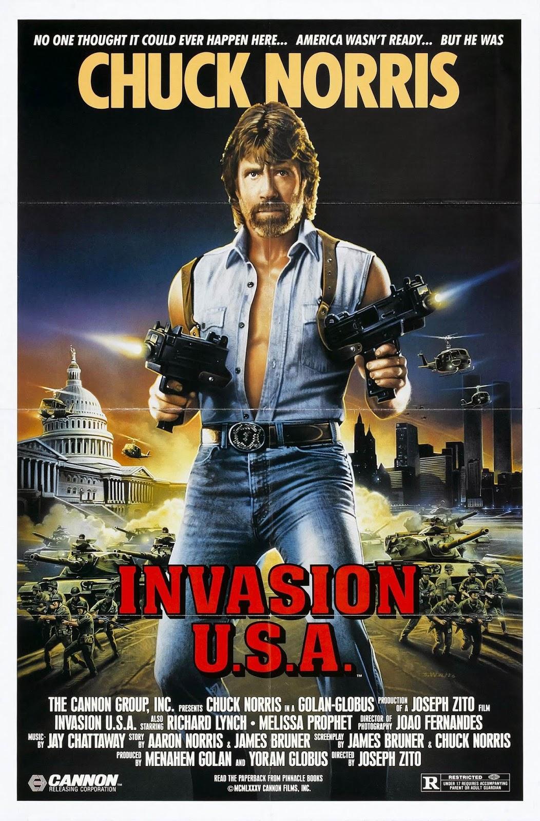 Happyotter: INVASION U... Invasion U.s.a. (1985)