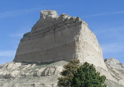 Dome Rock at Scotts Bluff National Monument