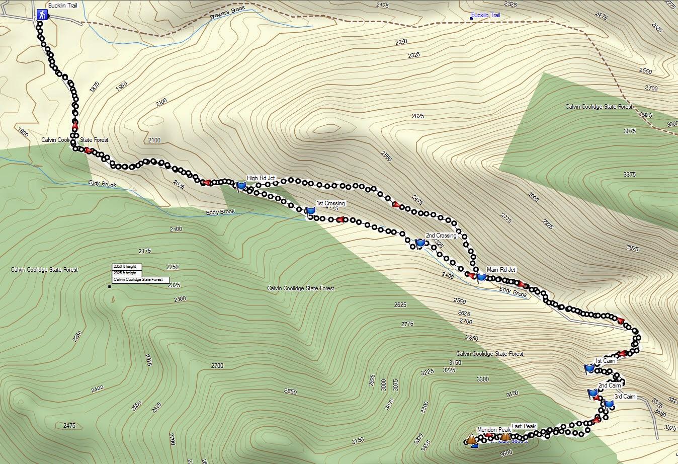 87 Mendon VT Ne100 TrailsNH