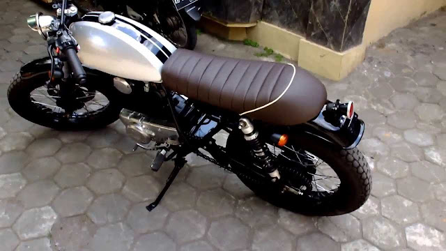 KZ200 Binter Merzy cafe racer