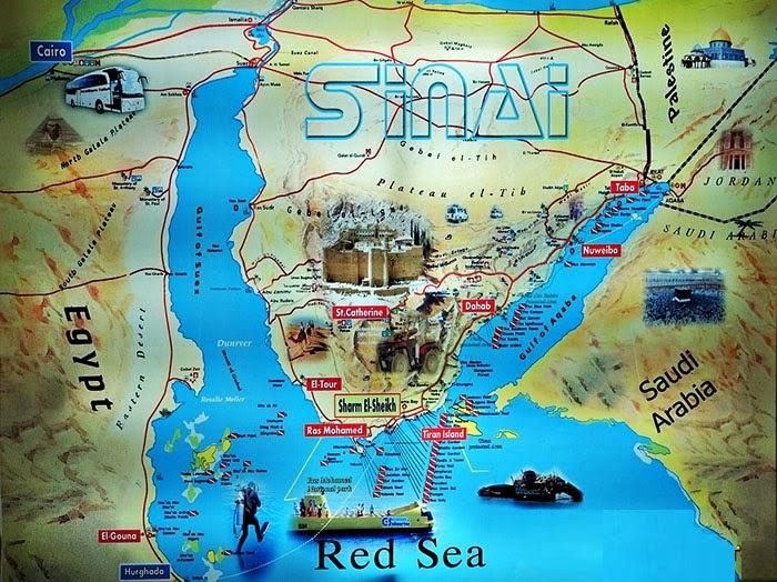 Sinai map