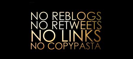 No Facebook & No Twitter