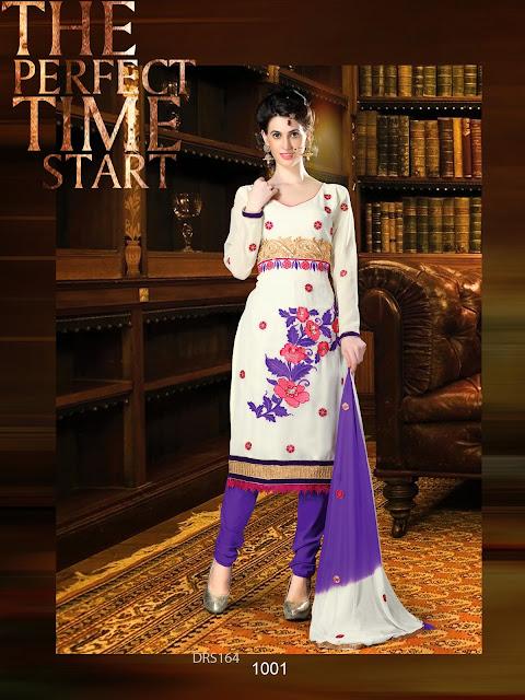 Exclusive Georgette Embroidered Salwar Kameez | Dress Matrial Onine