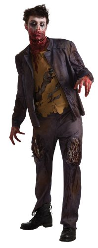 The spooky vegan july 2012 mens zombie costume with built in latex gore solutioingenieria Choice Image