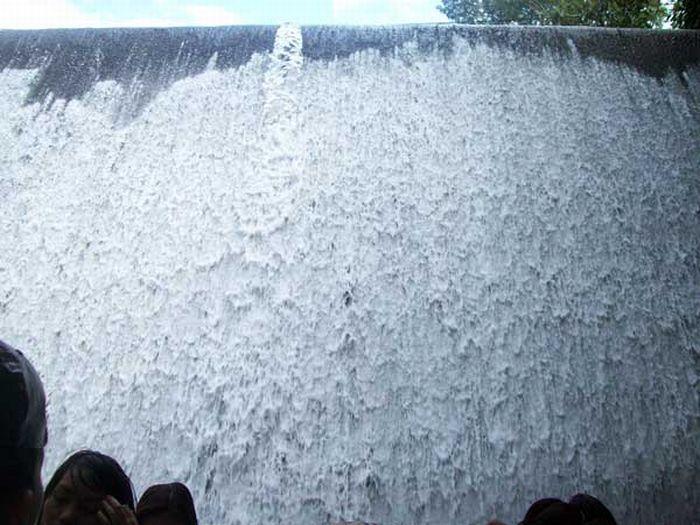 Waterfalls restaurant in villa escudero philippines Villa escudero quezon province