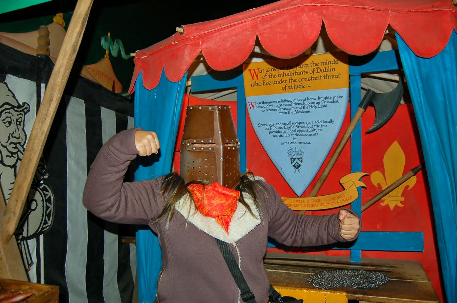 dublinia, museu viking em dublin