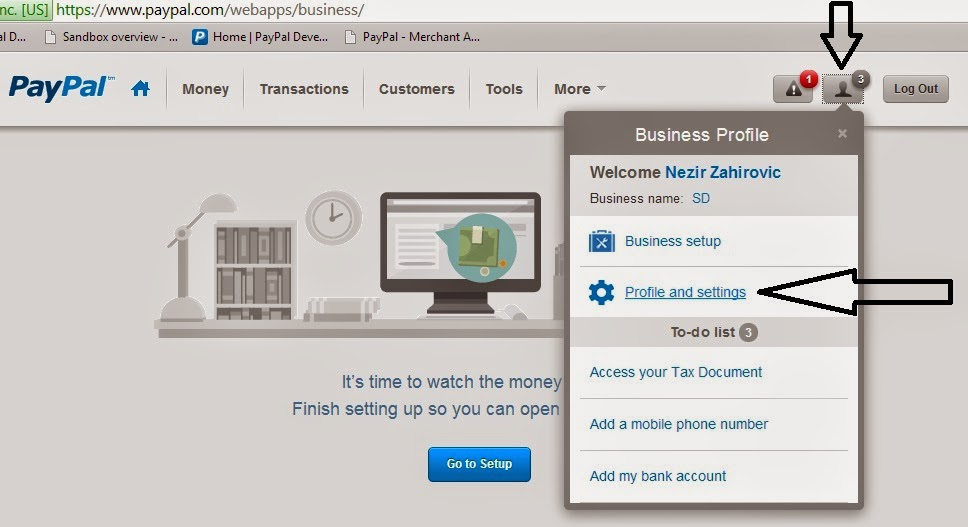 how to receive instant payment on paypal