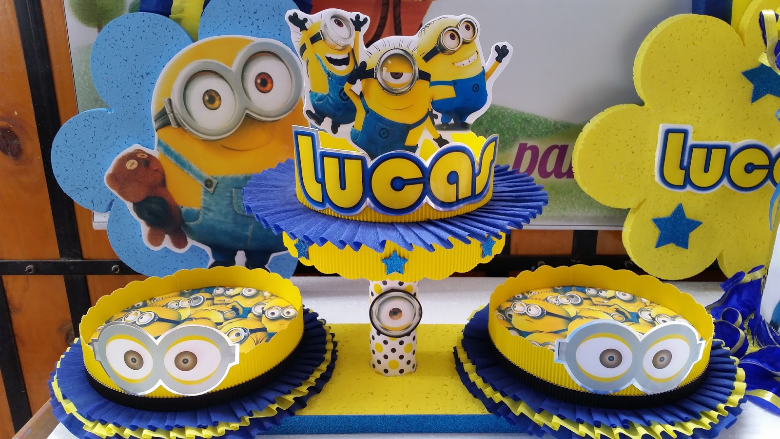 decoraciones infantiles minions