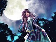 Anime girl (fushigi yoru wallpaper )