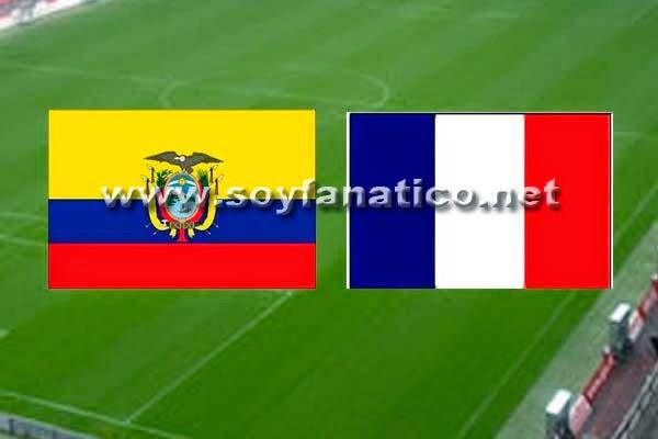 Partido Ecuador vs Francia Mundial 2014