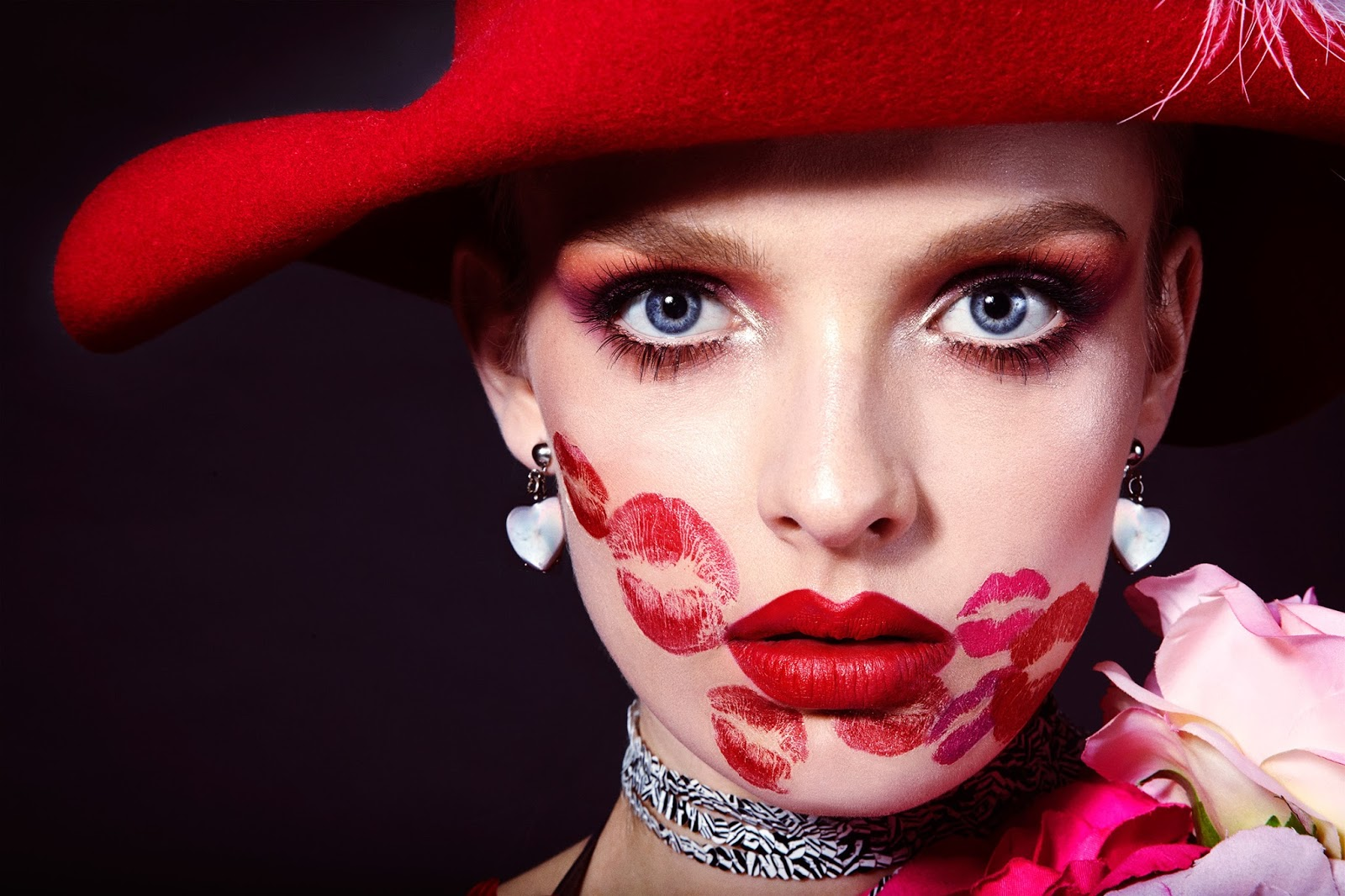 Valentine S Day Beauty Shoot Editorial Love Barbie Girl