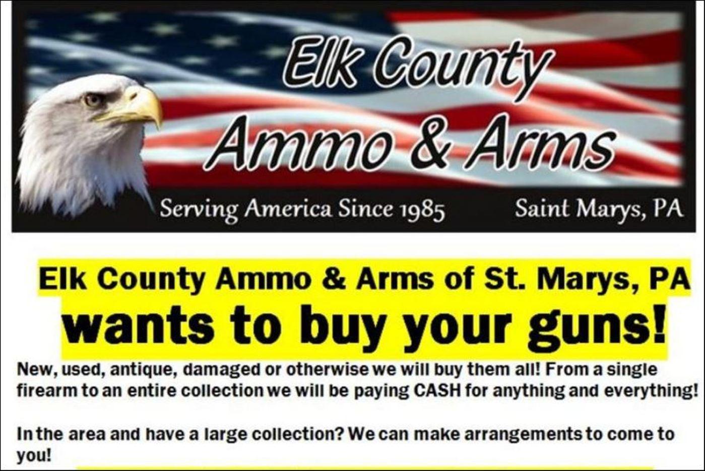 Elk Ammo & Arms, St. Marys, PA