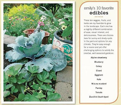 Emily's 10 Favorite Edibles