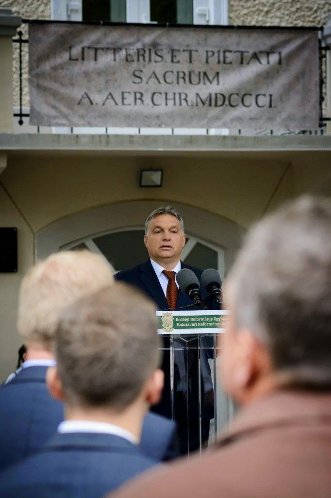 Orbán Viktor, oktatás, szakoktatás, magyarság, Kolozsvár, Református Kollégium,
