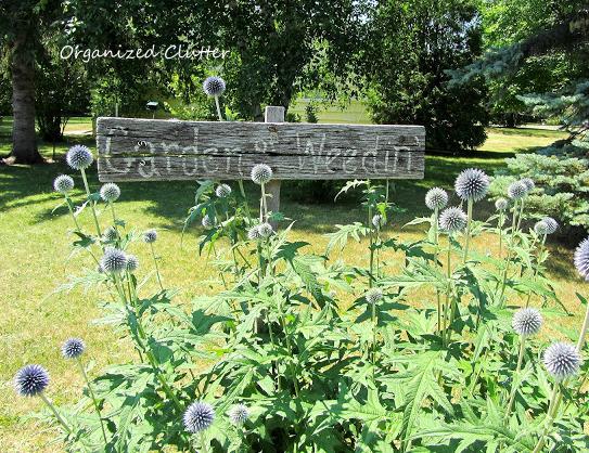 Rustic Garden Sign