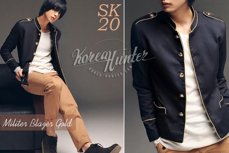 KOREA-HUNTER.com jual murah Genji Black Korean Jacket | kaos crows zero tfoa | kemeja national geographic | tas denim korean style blazer