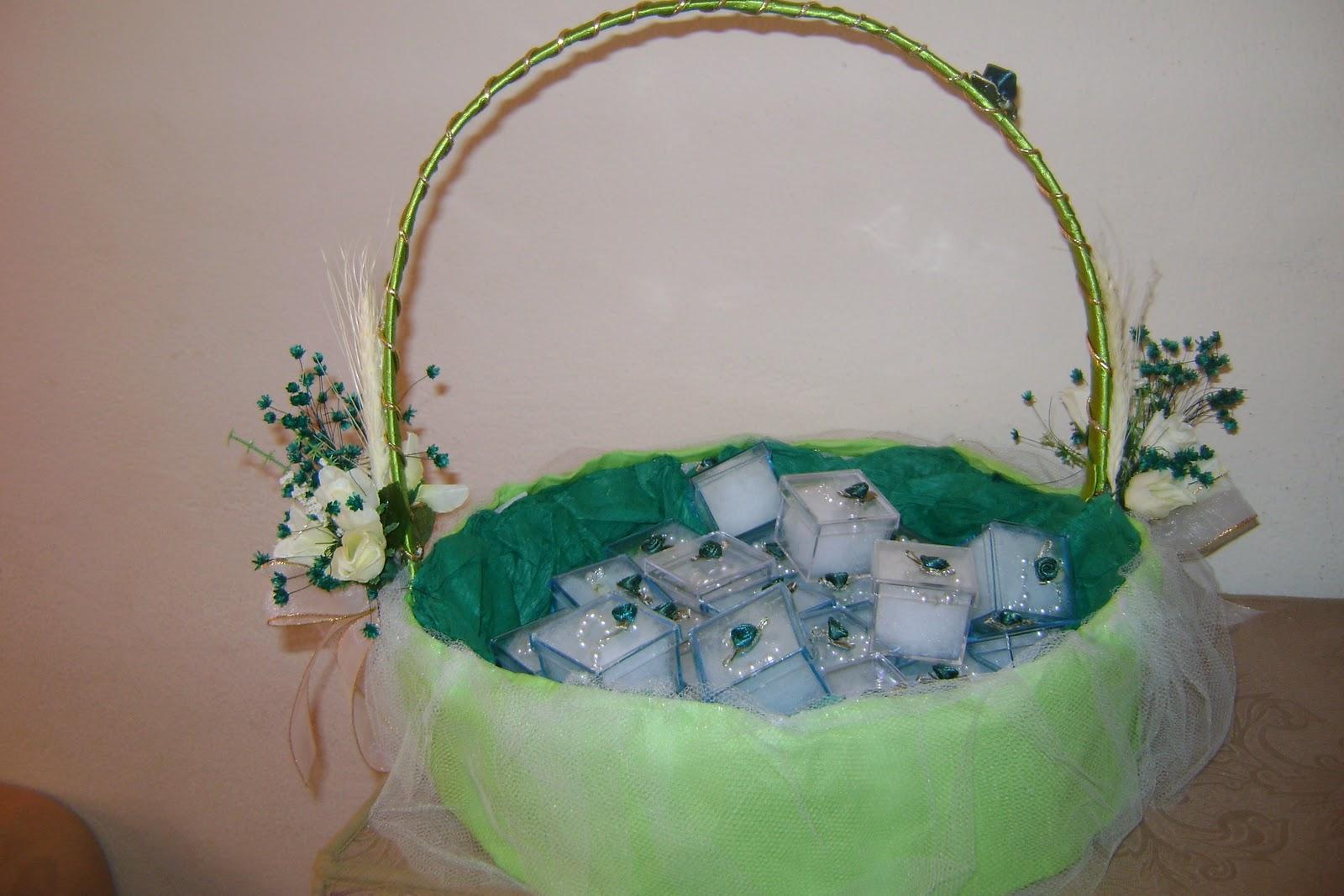 Artes com r bia tricot cestas decorativas para 1 eucar stia - Cestas decorativas ...