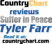 "Review of Tyler Farr's ""Suffer In Peace"" Country Music"