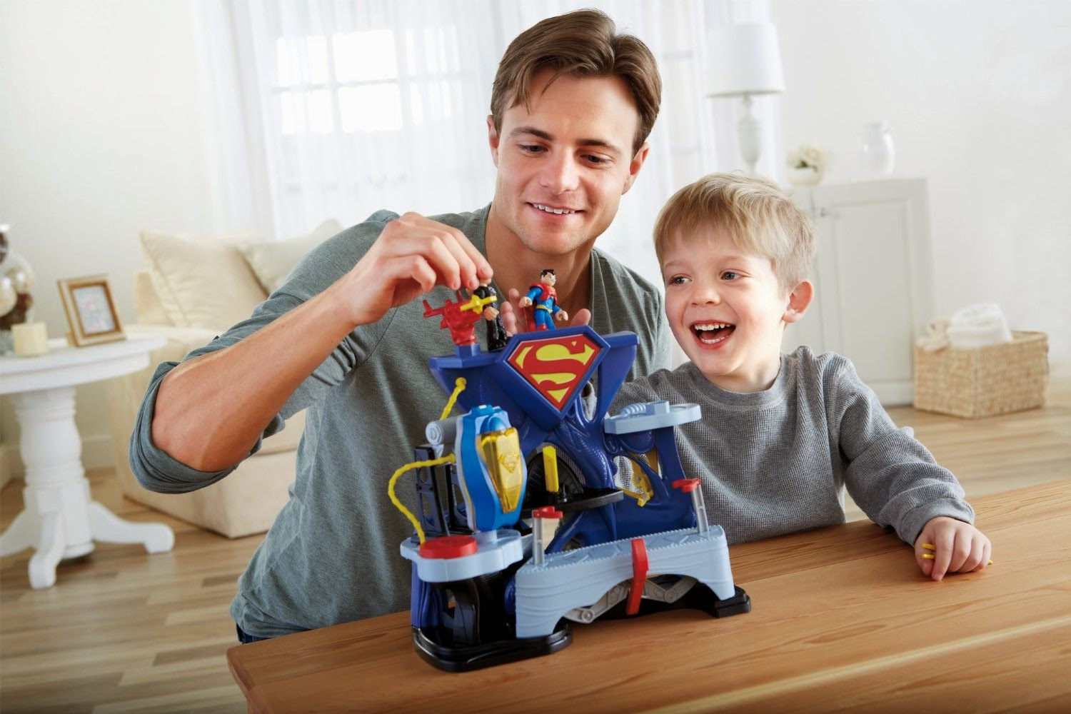 Imaginext DC Super Friends Superman Playset