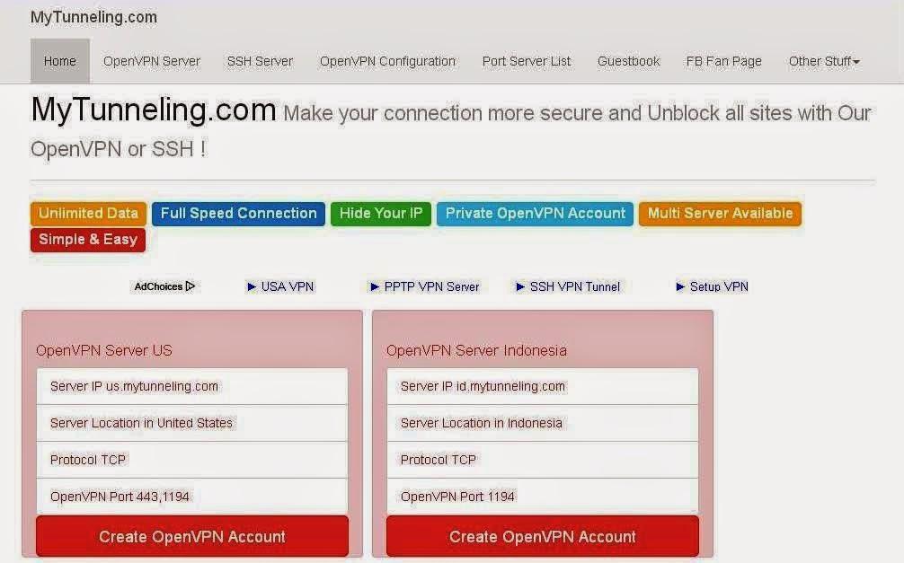 Situs Download SSH Gratis