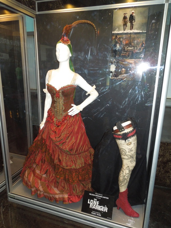 Red Harrington Lone Ranger saloon dress