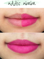 soft matte lip cream, nyx, urban outfitters, makeup, lip cream, lips, review, swatches, thoughts, addis ababa, before, after, lip swatch