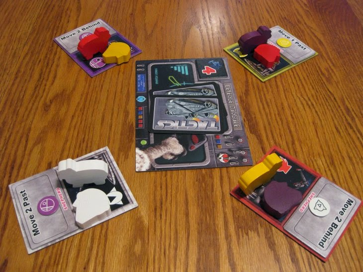 Space Sheep - A 2-4 player game just under way