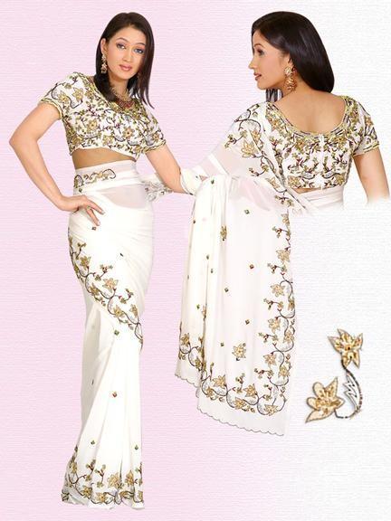 Fashion Lahore Saree Blouse Designs 2011