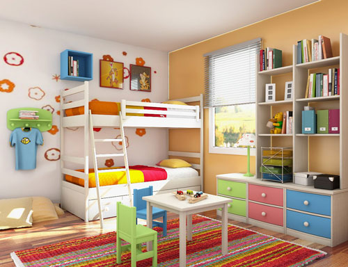 Http Wwwhomesideasnet Kids Bedroom Storage Ideas