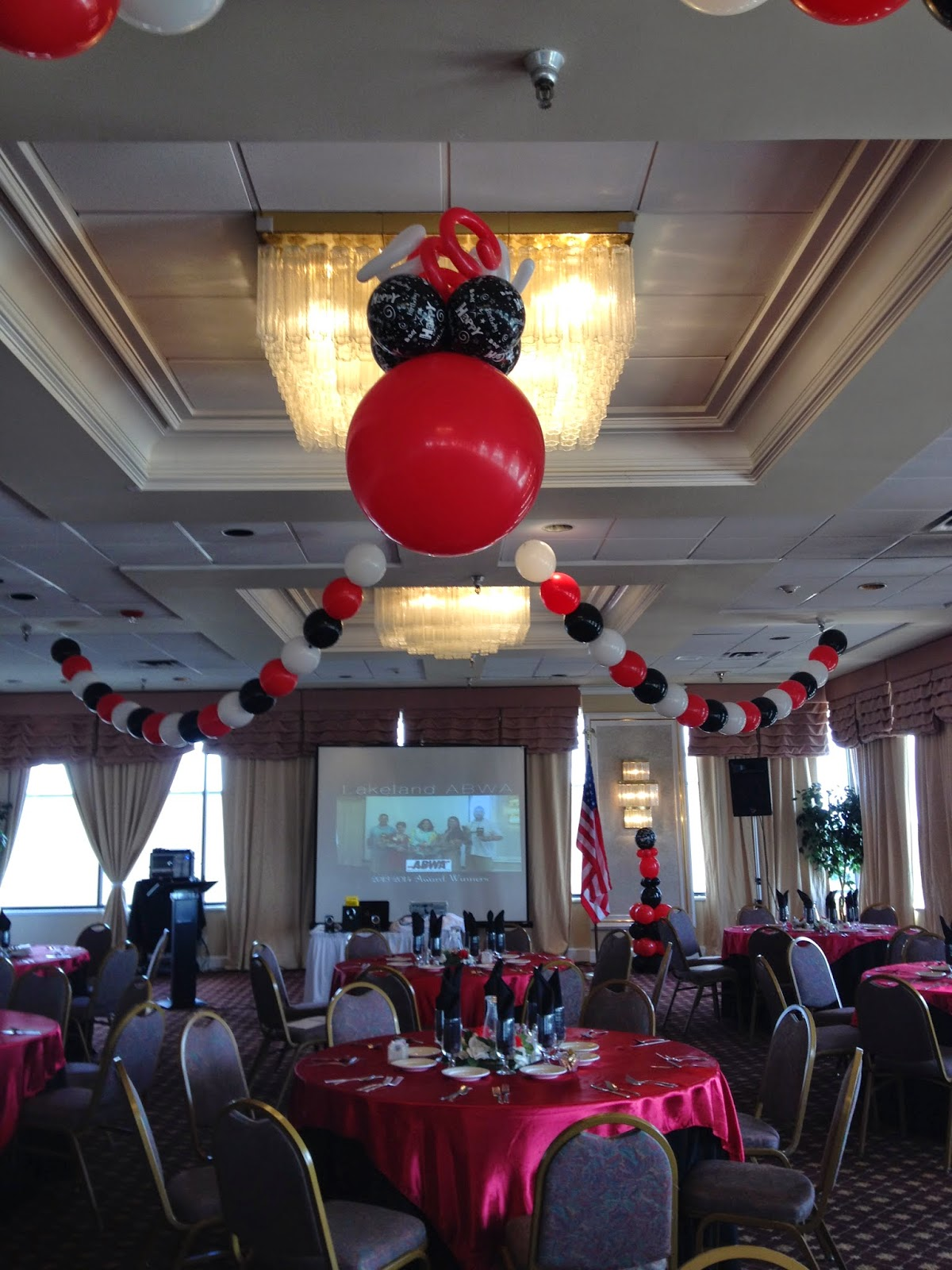 Party people event decorating company abwa downtown for Balloon decoration companies