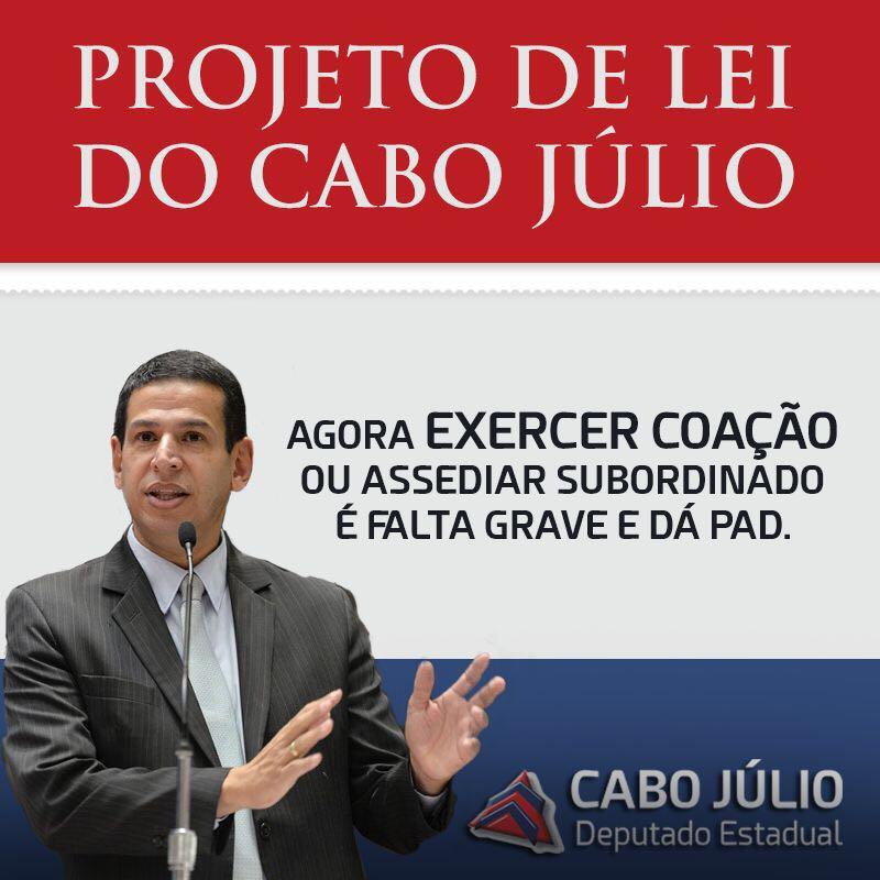 PROJETO DE LEI DO CABO JÚLIO