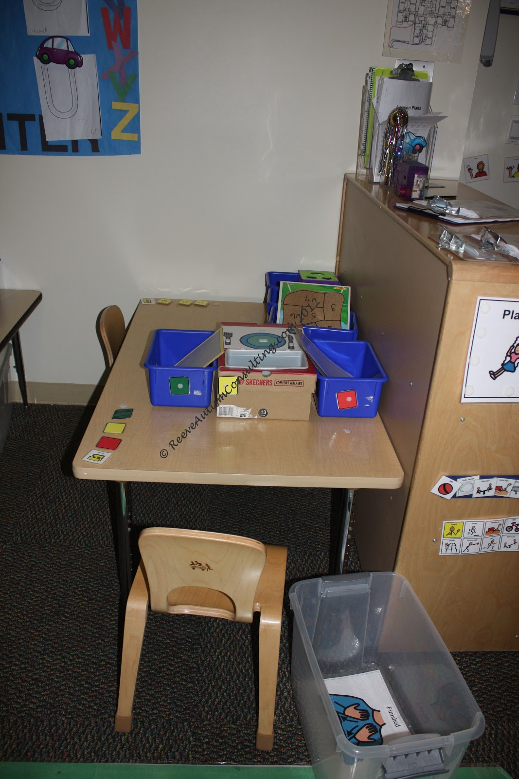 Classroom Ideas For Autistic Students ~ Structured work systems what are they and why use them