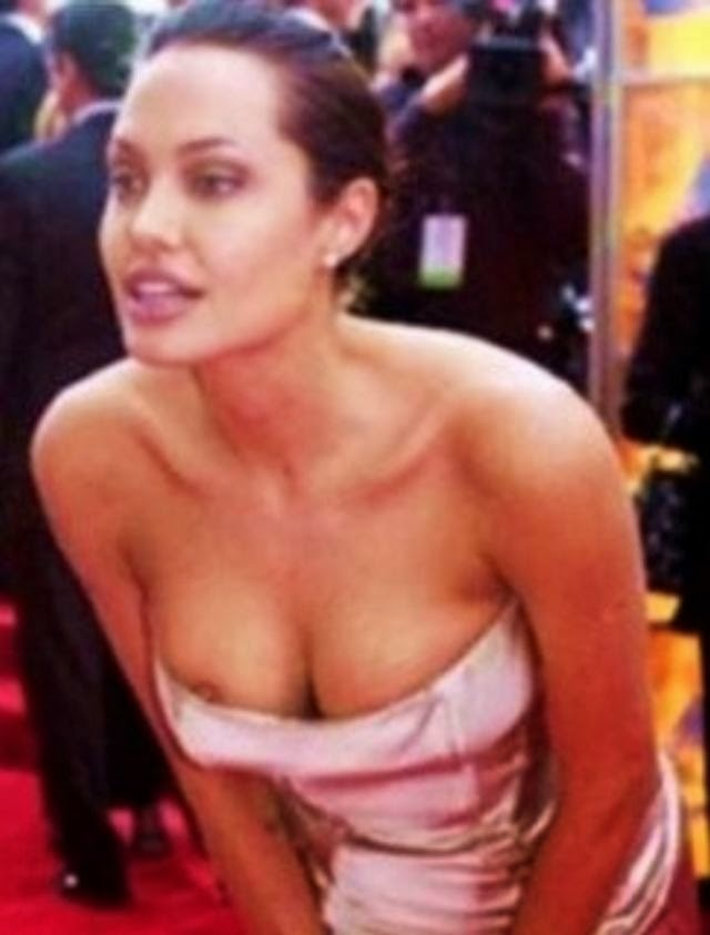angelina jolie topless sexy nude pics | scandal world