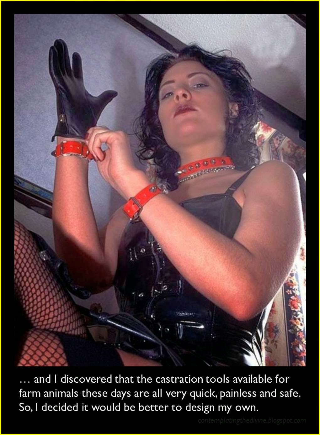 Castration at home
