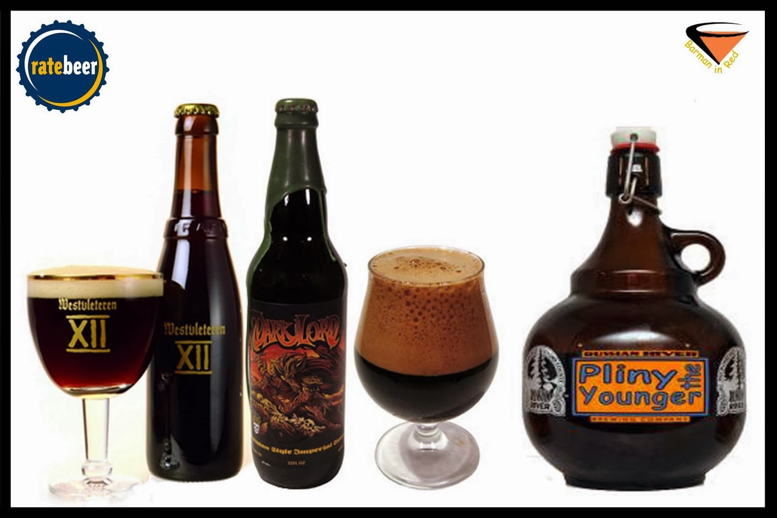 10 mejores cervezas ratebeer 2014