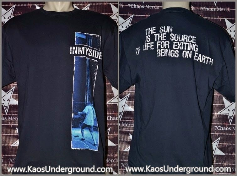 in my side hardcore bandung kaosunderground riotic 7chaos merch