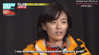 hyojoo running man no script