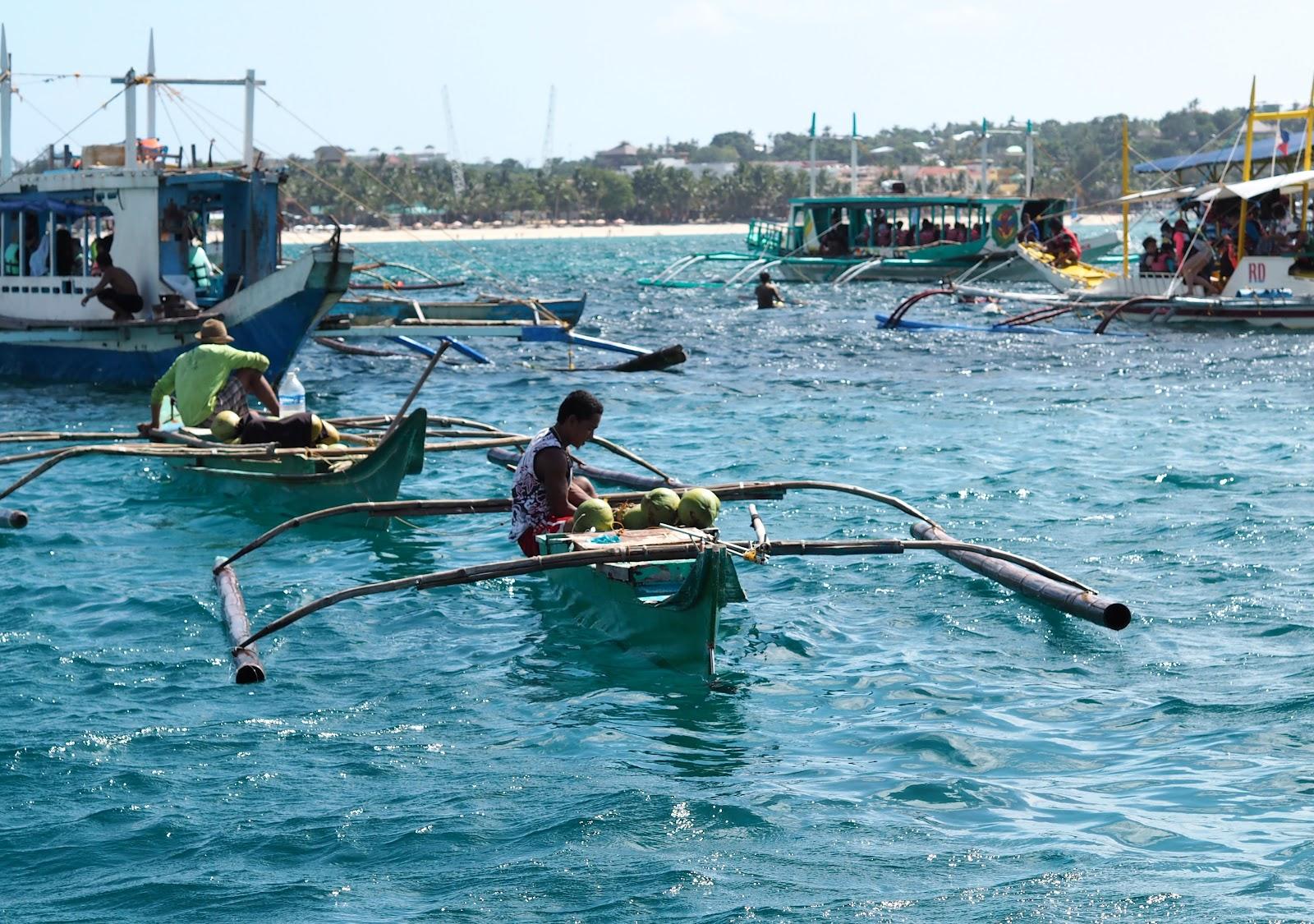 Boat Trippin' in Boracay