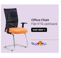 Buy Blue Bell Office Chairs at extra at Flat 51% Cashback :Buytoearn