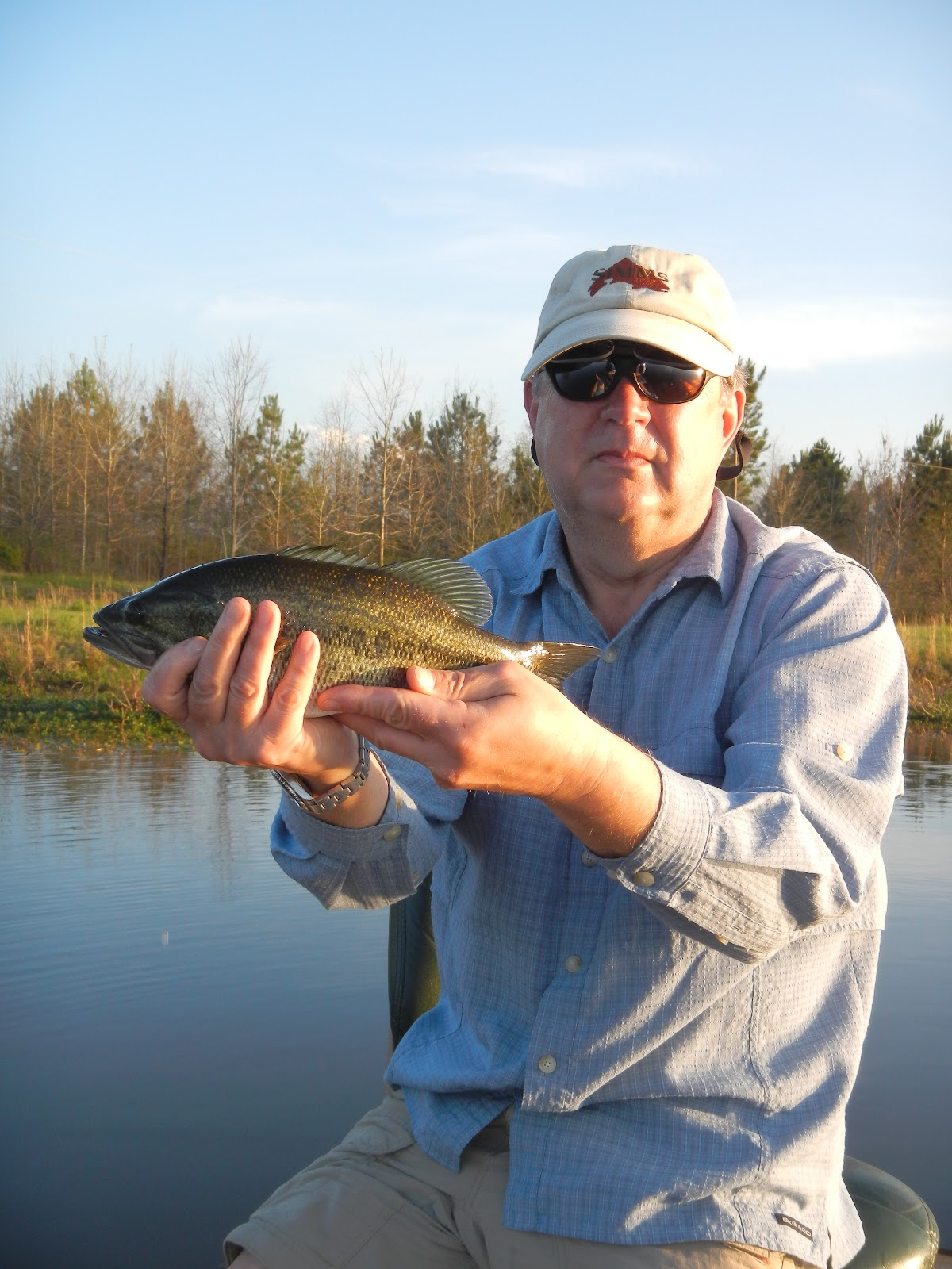 Fish spotter alabama fly fishing trip for Trout fishing in alabama
