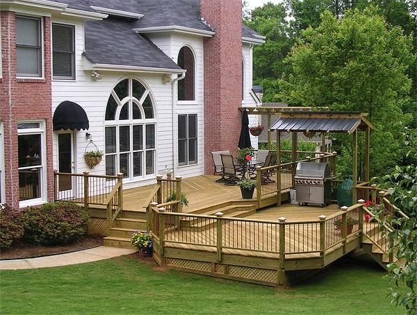 outdoor wooden space | Vietnam Outdoor Furniture